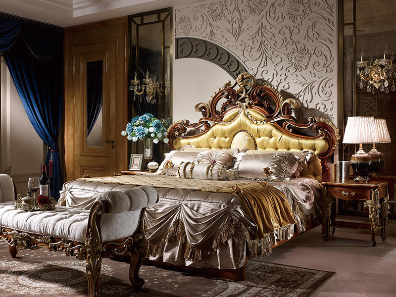High Quality Bedroom Furniture And Luxury Master Bedroom Sets